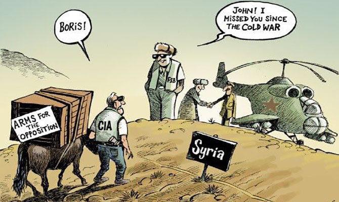 Анализ на съвместната операцията на Руските въоръжени сили в Сирия