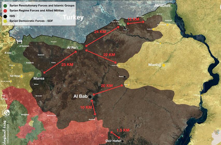 бойно поле Сирия