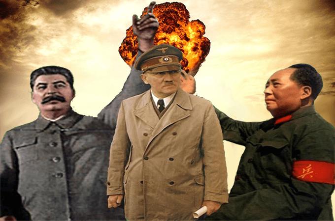 Сталин, Хитлер и Мао