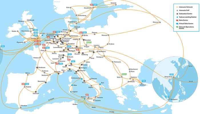 Карта на кибервойната в Интернет